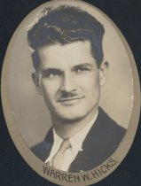 Image of Warren W. Hicks (OSU 1931)