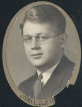 Image of John Lester Clifton (OSU 1933)