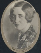 Image of Pauline Freeman (OSU 1933)