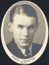 Image of Fred J. Hunter - Secretary (OSU 1934)