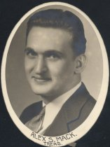 Image of Alex S. Mack - Treasurer (OSU 1934)