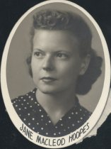 Image of Jane Macleod Hoopes (OSU 1940)