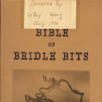 Image of Bible of Bridle bits