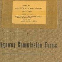 Image of Center Township Clerk  Book