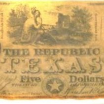 Image of Repulbic of Texas $5