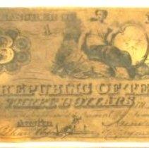 Image of Republic of Texas $3