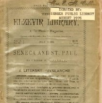 "Image of Elzevir Library, A Literary ""A"