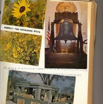Image of Postcard - Picture postcards of towns outside of Kansas