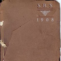 Image of 1908 SHS Yearbook