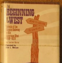 Image of Book - Beginning of the West