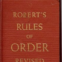 Image of Robert's Rules of Order