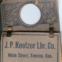 Image of Koelzer lbr. phone index