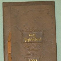 Image of Invitation - Goff High School commencement exercises of 1923