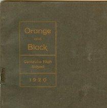 Image of Orange & Black