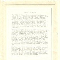 Image of Documents - Obituary of Dr. W. G. Bouse