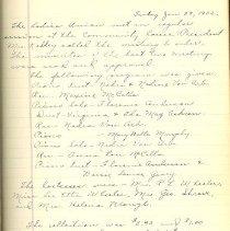 Image of Ladies Union Record Book