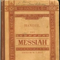 Image of Book - Handel the Messiah