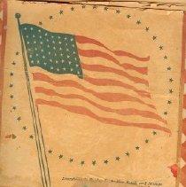 Image of Scrapbook - Scrapbook on Nemaha County Boys in Service W.W. II