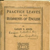 Image of Book - Practice Leaves in the Rudiments onf English