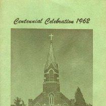 Image of Program - Centennial Celebration 1962 St. Augustine's Church Fidelity, Kansas