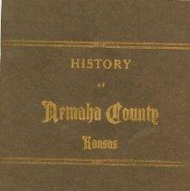 Image of History of Nemaha County, KS -