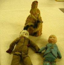 Image of Three Dolls