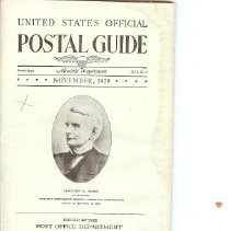 Image of Postal Guide