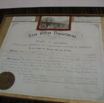 Image of Print, Photographic - St. Benedict  Post Office Certification