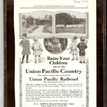 Image of Railroad ad