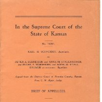 Image of In the Supreme Court of Kansas