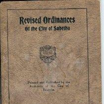 Image of Sabetha ordinances