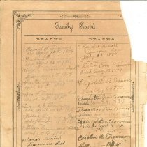 Image of Wilcox Bible- Family Records
