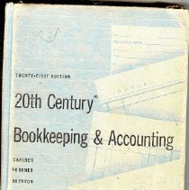 Image of Book - 20th Century Bookkeeping & Accounting