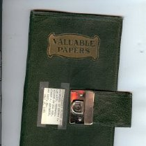 Image of Notebook - 1 Scrapbook of newspaper clippings, personal letters to editor, etc.