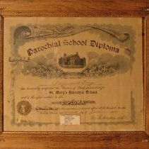 Image of Parochial School Diploma