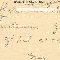 Image of Harsh Drug Store Prescription