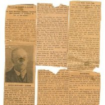 Image of Newspaper - Death of David B. Harsh