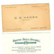 Image of Harsh Business Cards
