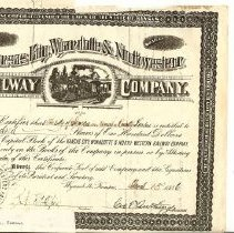 Image of Railroad Certificate