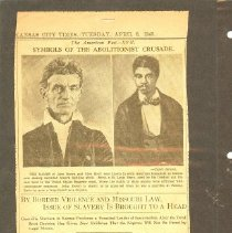 Image of Newspaper - Symbols of the Abolitionist Abolitionist