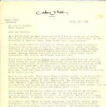 Image of Albert Reid letter