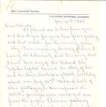 Image of Letter from Lillian