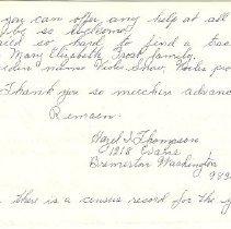 Image of page 2 Hazel thompson Letter B