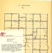 Image of Map capioma township Box 120