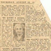 Image of Obituary of bernard redmond Bo