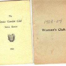 Image of Booklet - Seneca Garden Club program booklets