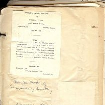 Image of Documents - Nemaha County Council of Women's Club