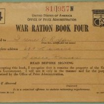 Image of War Ration Book Four