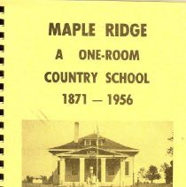 Image of Maple Ridge Country book