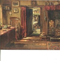 Image of Oil Painting- Hearth Room